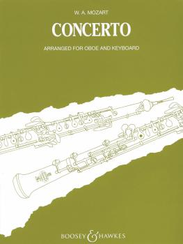 Oboe Concerto in C, K. 314 (for Oboe and Chamber Orchestra) (HL-48010194)
