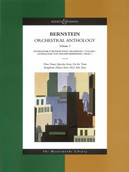 Bernstein - Orchestral Anthology, Volume 1: The Masterworks Library (HL-48011850)