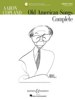 Aaron Copland - Old American Songs Complete (Medium Voice): Medium Voi (HL-48019954)