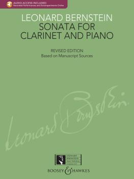 Bernstein - Sonata for Clarinet and Piano (with a CD of Recorded Perfo (HL-48020641)