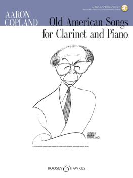 Old American Songs (Clarinet and Piano) (HL-48023409)