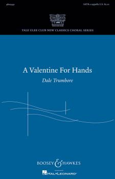 A Valentine for Hands: Yale Glee Club New Classic Choral Series (HL-48023431)