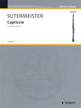Capriccio for Solo Clarinet (1946) (Solo Clarinet in A) (HL-49002366)