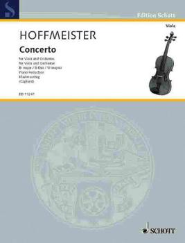 Concerto in B Flat Major (Viola and Piano) (HL-49002723)