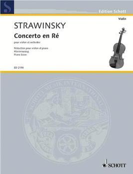Concerto in D (1931) (Violin and Piano) (HL-49003651)