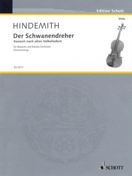 Der Schwanendreher (1935-1936): After Old Folksongs Viola and Piano (HL-49003794)