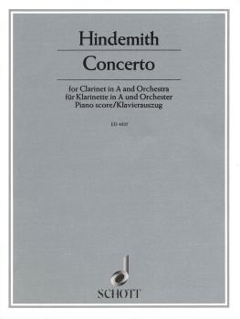 Clarinet Concerto: Clarinet and Piano Reduction (HL-49004588)