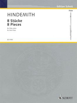 8 Pieces for Flute (1927) (HL-49005129)