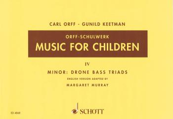 Music for Children/Murray Ed.: Volume 4: Minor - Drone Bass-Triads (HL-49005217)