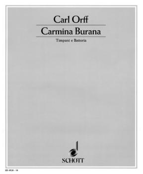 Carmina Burana: Timpani and Percussion Parts (HL-49005268)