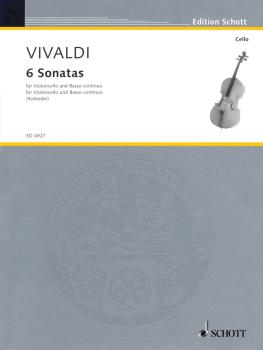 6 Sonatas (for Violoncello and Basso Continuo) (HL-49005274)