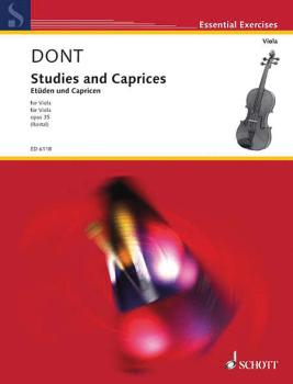 Studies and Caprices (Viola Solo) (HL-49006033)