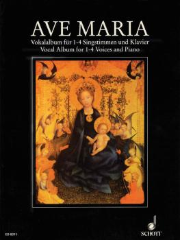Ave Maria Album (for 1-4 Voices and Piano Organ) (HL-49007909)