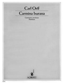 Carmina Burana (Score) (HL-49008056)