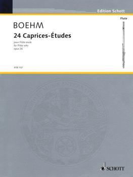 24 Caprice Etudes, Op. 26 (Solo Flute) (HL-49010512)
