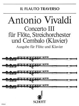 Concerto No. 3 in D Major, Op. 10 (RV 428/PV 155) (Il Cardellino) (HL-49010642)