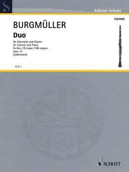 Duo in E-Flat Major, Op. 15 (Clarinet and Piano) (HL-49011046)
