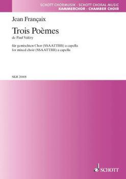 3 Poemes of Paul Valery (HL-49012106)