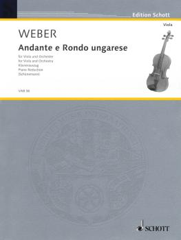 Andante and Rondo Ungarese (Viola and Piano) (HL-49012258)
