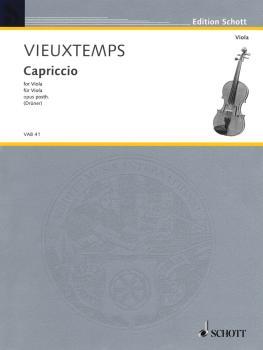 Capriccio, Op. Posthumous (for Solo Viola) (HL-49012264)