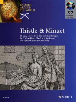 Thistle & Minuet: 16 Easy Pieces from Scottish Baroque (HL-49012952)