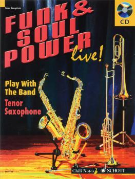 Funk & Soul Power: Play Tenor Sax with the Band (HL-49015688)