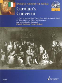 Carolan's Concerto: 15 Easy to Intermediate Pieces from 18th-Century I (HL-49016778)