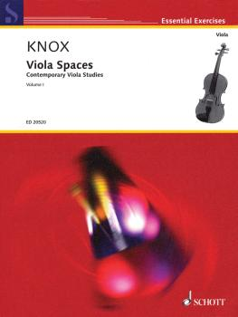 Viola Spaces: Contemporary Viola Studies, Volume 1 (HL-49017750)
