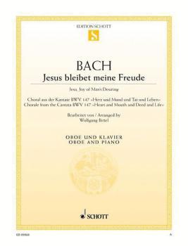 Jesu, Joy of Man's Desiring (Oboe and Piano) (HL-49018219)