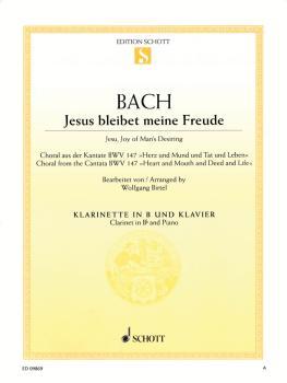 Jesu, Joy of Man's Desiring (Clarinet and Piano) (HL-49018296)
