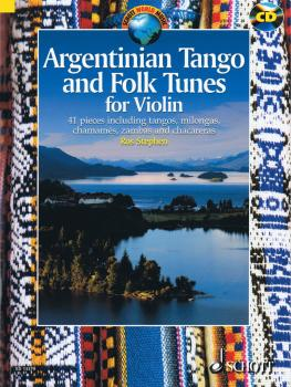 Argentinian Tango and Folk Tunes for Violin (with a CD of performances (HL-49018458)