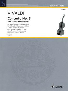 Antonio Vivaldi - Concerto No. 6 in A minor, Op. 3/6, RV 356 (from L'E (HL-49019365)