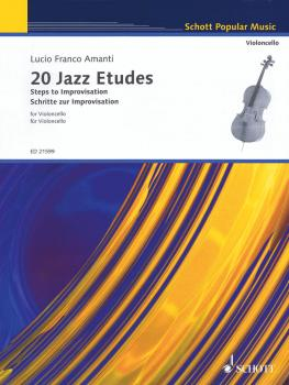 20 Jazz Etudes: Steps to Improvisation (for Cello Solo) (HL-49044389)