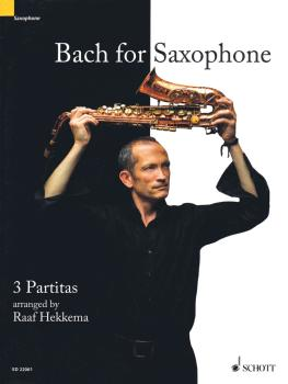 Bach for Saxophone: 3 Partitas - BWV 1002, BWV 1004, BWV 1006 (for Sop (HL-49044441)