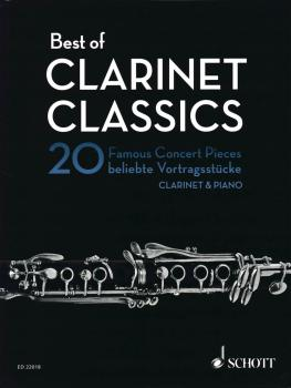 Best of Clarinet Classics: 20 Famous Concert Pieces for Clarinet and P (HL-49044618)