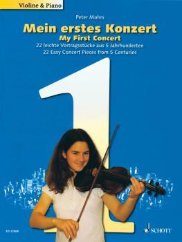 My First Concert - 22 Easy Concert Pieces from 5 Centuries (Mein erste (HL-49044751)