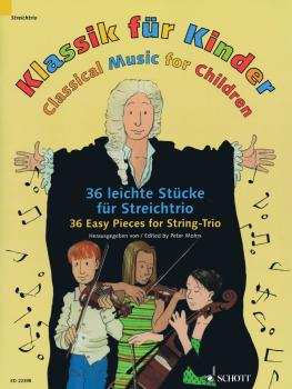 Classical Music for Children: 36 Easy Pieces for String Trio (HL-49044875)