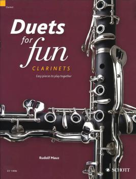 Duets for fun: Clarinets: Easy Pieces to Play Together (HL-49045133)