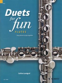 Duets for Fun: Flutes: Easy Pieces to Play Together - Performance Scor (HL-49045152)