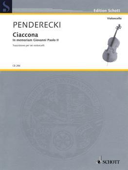 Ciaccona - in Memoriam Giovanni Paolo II (for 6 Cellos) (HL-49045160)