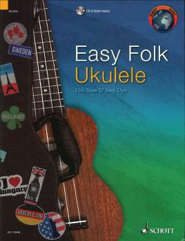 Easy Folk Ukulele: 29 Traditional Pieces (HL-49045249)