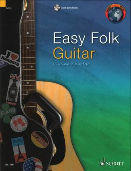 Easy Folk Guitar: 29 Traditional Pieces (HL-49045252)