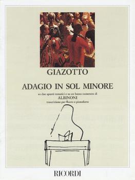 Adagio in G Minor (Flute and Piano) (HL-50029410)