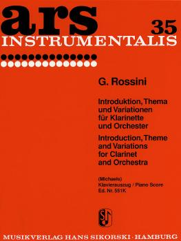 Introduction, Theme and Variations (Score and Parts) (HL-50149410)