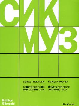 Sonate, Op. 94 (Flute and Piano) (HL-50159530)