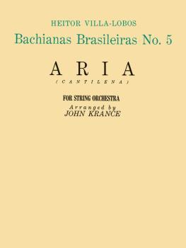 Aria (from Bachianas Brasileiras, No. 5) (Set of Parts) (HL-50242140)