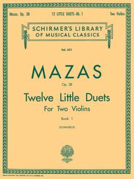 12 Little Duets, Op. 38 - Book 1 (Score and Parts) (HL-50254360)