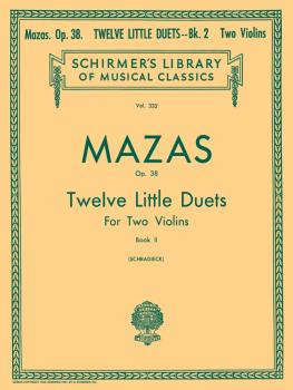 12 Little Duets, Op. 38 - Book 2 (Score and Parts) (HL-50254370)