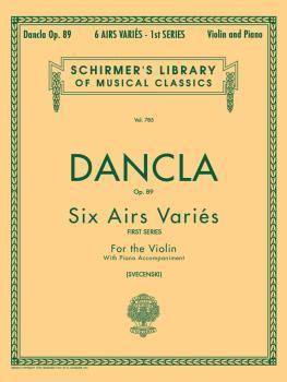 6 Airs Variés, Op. 89 (Violin and Piano) (HL-50256340)