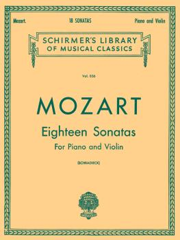 Schirmer Library of Classics Volume 836 (Violin and Piano) (HL-50256560)
